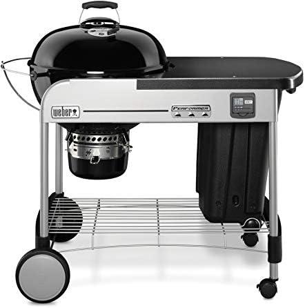 Weber 15401004 Performer Premium GBS Barbecue à Charbon Noir Diamètre 57 cm
