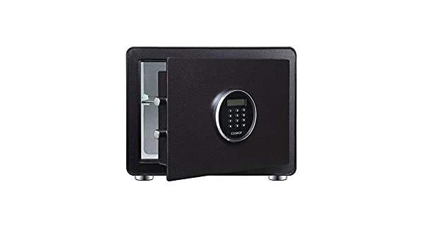 TengPeng Gabinete de Seguridad, Caja de Seguridad de Acero de aleación de Acero de aleación de pequeña Utilidad de Oficina Inteligente Cajas Fuertes: Amazon.es: Hogar