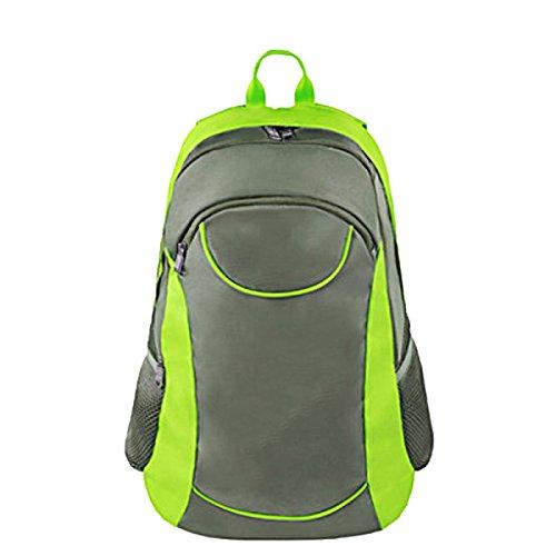 Yy.f47L Sólida Ocio Bolsas De Deporte Mochilas De Nylon Silla Plegable Bolsa De Escalada Al Aire Libre Montar A Caballo Bolsos Mochilas Multifuncional. Multicolor Green