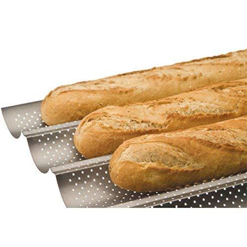 IBILI 824804 - Molde 4 Baguettes/Tejas
