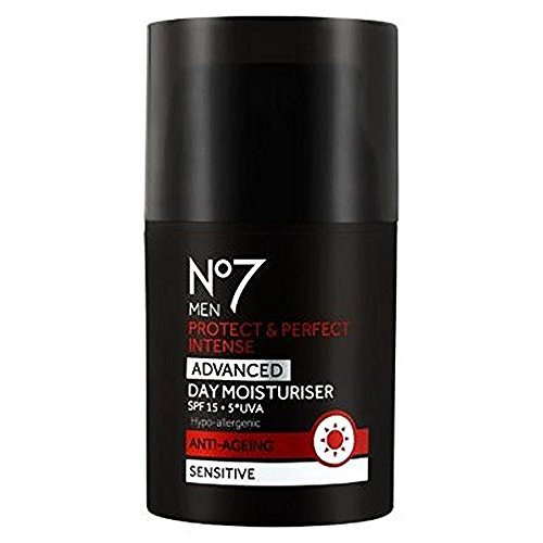 NO7 MEN'S PROTECT & PERFECT INTENSE ADVANCED MOISTURISER SPF 30 1.69 FL. ()