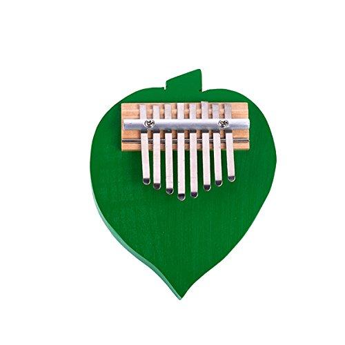 Kalimba 8Pulgar Piano Clave Mbira likembe africana Thumb Piano digitación de bolsillo (al azar: Color)