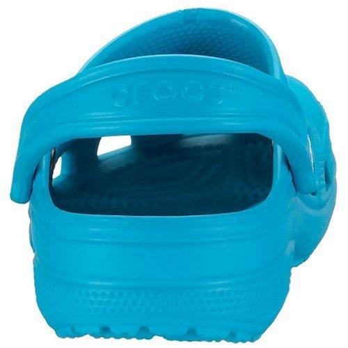 Classic turquoise Unisex Azul Eu Zuecos Crocs 46 45 Adulto HqZdAABxw