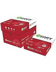 Caja Folios A4 Blancos para Impresoras Copy Paper paquete de 500 hojas (5)