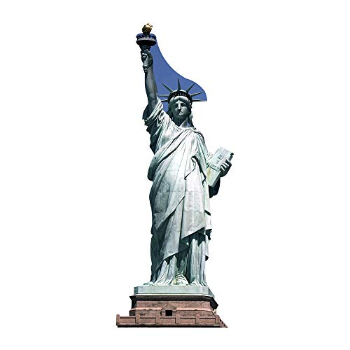 SC105 Statue of Liberty Cardboard Cutout Standup