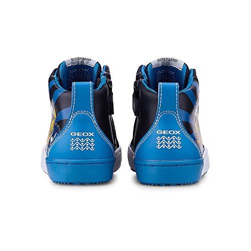 Navy ltblue Sneaker J842cd Boy Geox 32 Alonisso Jr Alte SwqaOZA