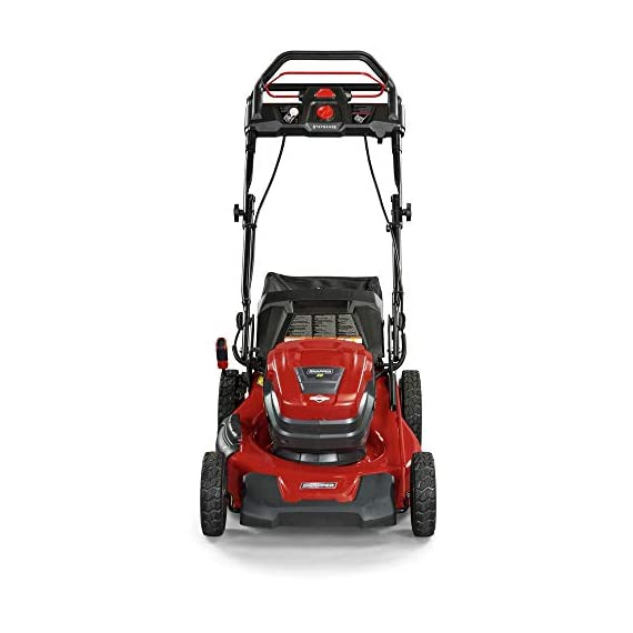 Snapper XD 82V MAX Step Sense Cordless Electric 19-Inch Lawn Mower Kit with (2) 2.0 Batteries and (1) Rapid Charger 5 StepSense Automatic Drive System : Intelligently adjusts to your mowing speed for easy operating pace Dual battery power head : houses two batteries to provide additional run time of up to 60 minutes** Intelligent load sensing technology : allows for optimum power levels while you mow for maximum efficiency