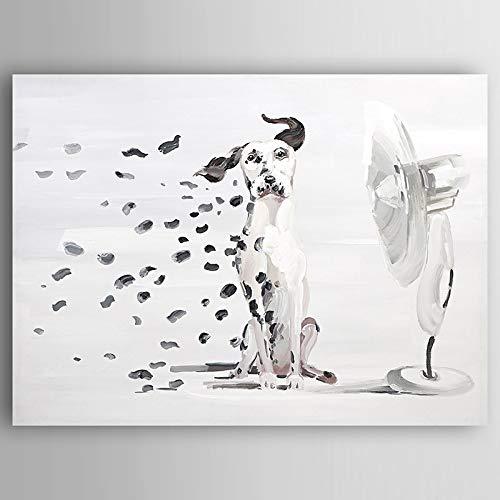JINTAIYANG Peinture à l'huile 100% Peint à La Main Peinture à l'huile Animal Moderne Toile Mur Art Mur Salon Chambre Décor à La Maison