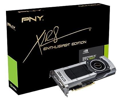 PNY GF980GTX4GEPB GeForce GTX 980 4GB GDDR5 - Tarjeta gráfica (GeForce GTX 980, 4 GB, GDDR5, 256 bit, 4096 x 2160 Pixeles, PCI Express x16 3.0)