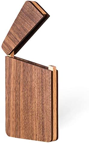 MaxGear Wood Business Card Holder product image
