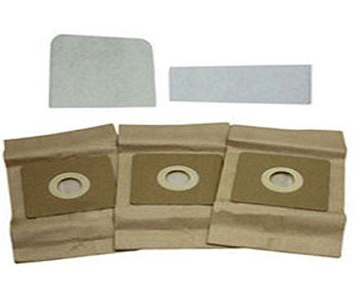 Bissell Butler & 3580 Series Canister Vacuum Paper Bags 3 Pk Part # 32023
