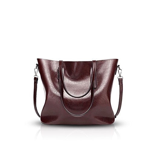 Coffee Nicole Tote Crossbody Leather amp;Doris Messenger Ladies PU Women Casual Bag Soft Coffee Shoulder Handbag qCOq4rHa
