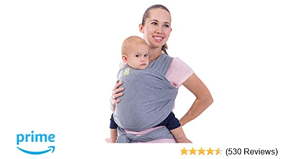 0e5561416 Amazon.com   Baby Wrap Carrier All-in-1 Stretchy Baby Wraps - Baby ...