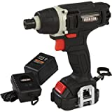 Ironton 12 Volt Lithium-Ion Impact Driver — 1/4in. Locking Collet Review