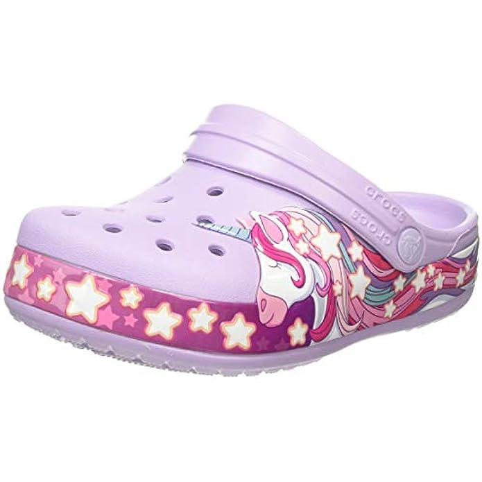 Crocs Kids' Fun Lab Toy Story 4 Light Up Clog | Disney Pixar Light Up Shoes