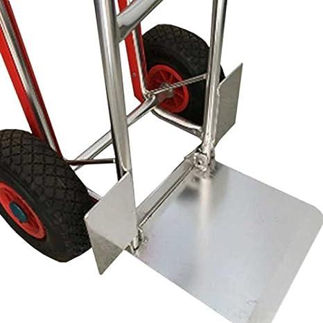 Pianale portata massima 150 kg 4 Ruote Bakaji Carrello Portapacchi Portatutto da trasporto con manico Pieghevole Carrello Piano 4 Ruote