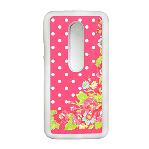 Tyboo Phone Shell Shock Resistance Print With Floral Flower Style Girl For Moto G 3Gen Pc