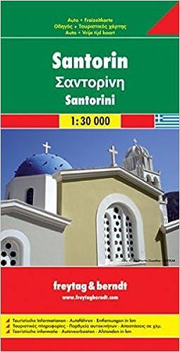 Santorini Freytag Berndt Und Artaria 9783850845908 Amazon Com