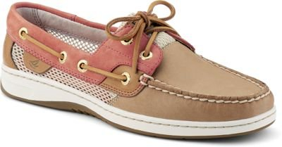 UPC 886129628451, Sperry Top-Sider Women's Bluefish 2-Eye,Linen Leather/Washed Red Open Mesh,US 8