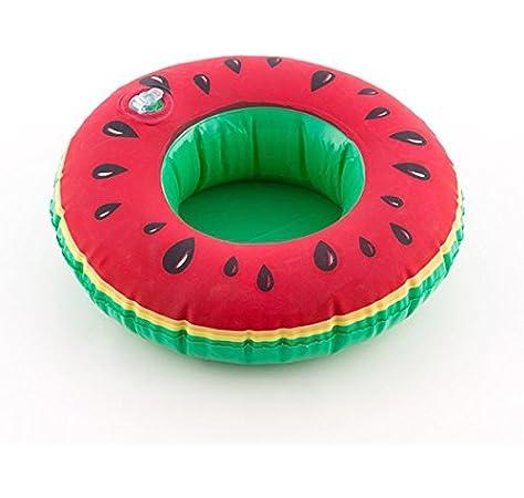 Boya Soporte hinchable latas sandías para piscina – Bandeja Mesa bebida mar y piscina: Amazon.es: Electrónica