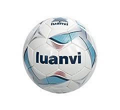 Luanvi Balón Cup T5, Unisex, Multicolor (Negro/Rojo), 5: Amazon.es ...