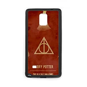 Deathly Hallows Samsung Galaxy Note 4 Cell Phone Case Black Gift pjz003_3171633