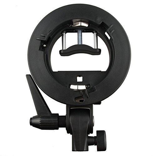 Godox S-type Bracket Bowens Mount Holder for Speedlite Flash Snoot Softbox Honeycomb