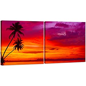 41zIeP6prQL._SS300_ Best Palm Tree Wall Art and Palm Tree Wall Decor For 2020