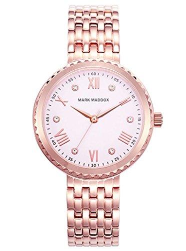 WATCH MARK MADDOX MM7018-73 WOMAN ACERO