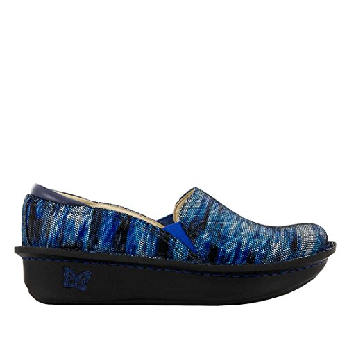 Alegria Donna Slip-on Slipy On Wavy Navy