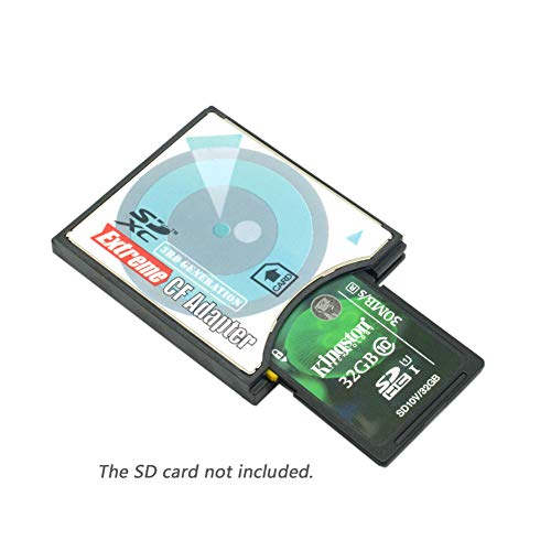 SD SDHC SDXC eyefi to SLIM CF Compact Flash Card Adapter for Nikon D800 D810