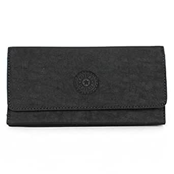 Kipling Brownie Large Organizer Wallet, Black, One Size
