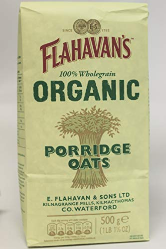 (FLAHAVAN'S Organic Porridge Oats, 17 Ounce (Pack of 6))