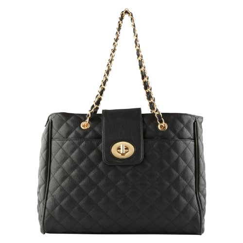 ALDO Leab – Shoulder Bags and Totes – Midnight Black – Onesize, Bags Central