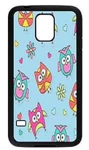 Samsung Galaxy S5 Hard Cover Owl Friend - Phone Back Case