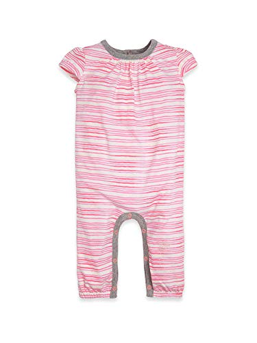 - Burt's Bees Baby Baby Girls Romper Jumpsuit, 100% Organic Cotton One-Piece Coverall, Pink On The Road, 6-9 Months