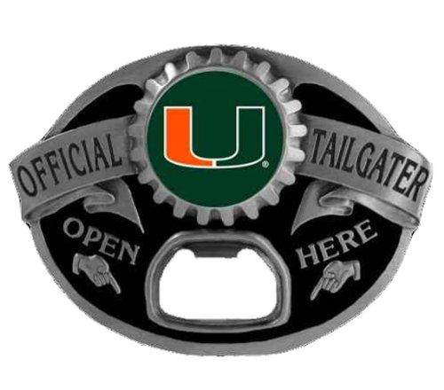 Miami Hurricanes Tailgater Novelty Belt Buckle - Miami Hurricanes Tailgater