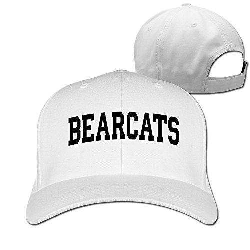 Unisex Bearcats-block In Black Front Funny 100% Cotton Adjustable Trucker Cap (Cincinnati Bearcats Jersey Mesh)