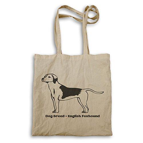 Hunderasse Englisch Foxhound Tragetasche s808r