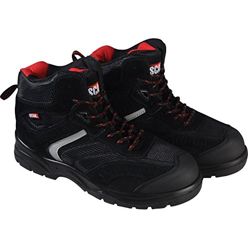 Scan fwbob9UK 9/Euro 43Bobcat Low Ankle Hiker Boot–Schwarz