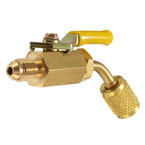 Used, TOOGOO R410a R134a Brass Shut Valve A/C Charging Hoses for sale  Delivered anywhere in USA