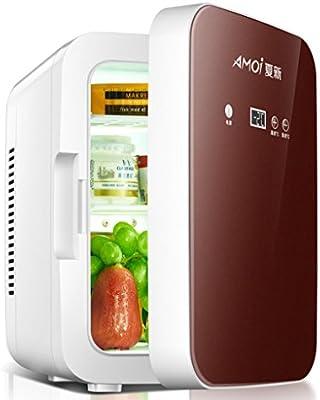 sgtrehyc Mini refrigerador de coche portátil nevera congelador ...