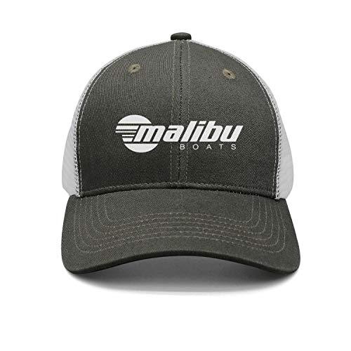 - Fashion Cap Adjustable Malibu-Boats-Decals-North-White- Army-Green Designer Trucker Hat