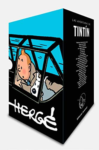 Cofre Aniversario Tintin Las Aventuras De Tintin Espanol Tapa Dura 1 Octubre 2018