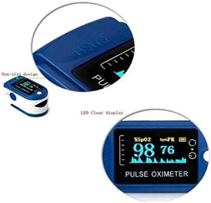 LINKO Oxímetro de Dedo, Oxímetro De Pulso, Spo2, OLED De Pulso, Monitor de Saturación de Oxígeno en Sangre con PR (Frecuencia de Pulso), Medición Infrarroja 4