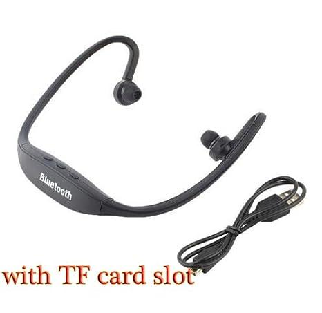 HHLUW Auriculares Inalámbricos Bluetooth Deporte Auricular ...