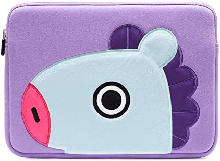 huge discount d19d6 52f49 BT21 Official Merchandise by Line Friends - MANG 13 Inch Laptop Sleeve Case  Compatible with MacBook, iPad Pro, and 13