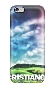 Tpu Case Cover For Iphone 6 Plus Strong Protect Case - Cristiano Ronaldo Legs Design