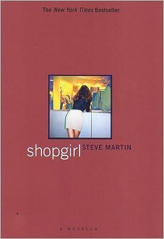 Book Shopgirl: A Novella by Steve Martin (2001-10-03)