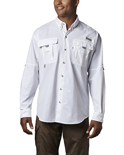 (Columbia Men's PFG Bahama II Long Sleeve Shirt, Breathable with UV Protection)